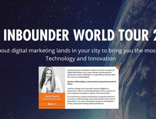 Comunicazione di posizionamento: il primo speech in Italia in esclusiva per Inbounder World Tour